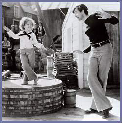 Buddy with Shirley Temple 