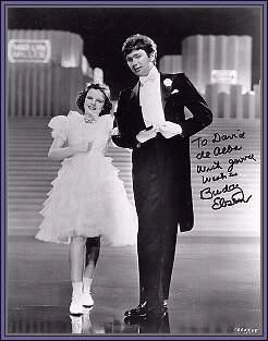 Buddy with Judy Garland 