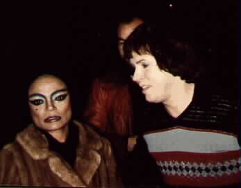 EARTHA KITT  AT ORPHEUM THEATRE