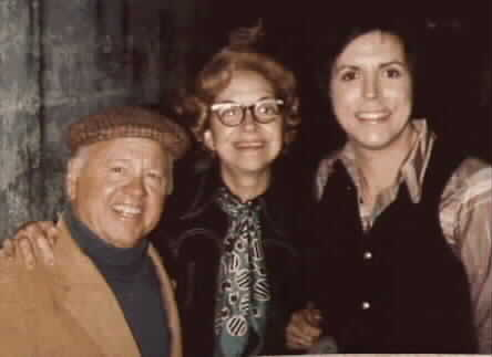 MICKEY ROONEY & MOM  AT CURRAN THEATRE