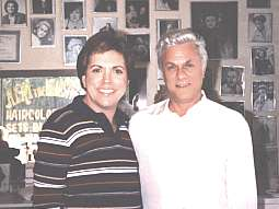 David with Tony Curtis 