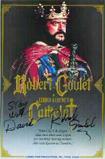 Robert Goulet as King Arthur