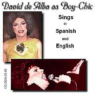 CD - David as Boy-Chic 