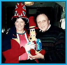 Gladys with Ken Dodd