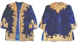Judy Garland sequined top