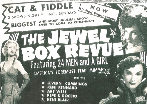 Jewel Box Revue Poster